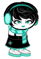 003 Snowflake Girl Adoptable (closed) by owlingdreamer