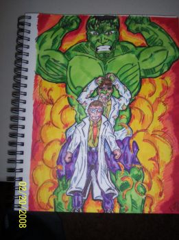 incredible hulk by boltz316