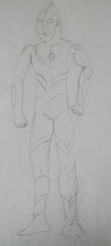 Generic Ultraman by Patroclusilliad233
