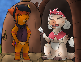 [wyngro]Annoyed Mother by millemusen