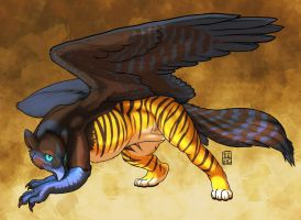 Tain Gryphon alt colors by RickGriffin