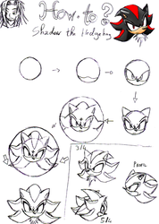 How-To Shadow ? The Hedgehog by RaianOnzika