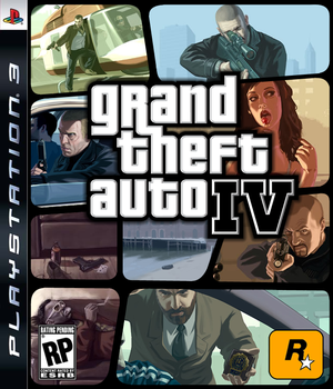 GTA IV Box Art v2 by SlimTrashman