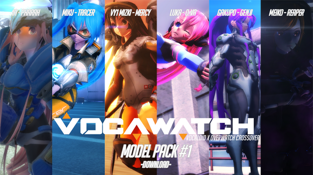 Vocawatch Model Pack #1 [DOWNLOAD] by anondxdproductions