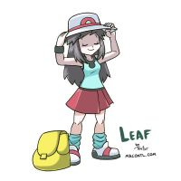 Leaf by FlintofMother3