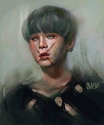 Zombie Yoongi by ohsh