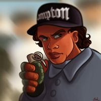 Eazy-E by AlcalaArt