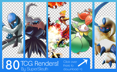Pokemon TCG Renders Pack by SuperSleuth10