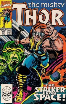 The Mighty Thor #417 by derrickthebarbaric