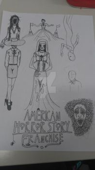 American Horror story franchise by ultra43