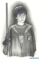 Harry Potter by Clsportraits