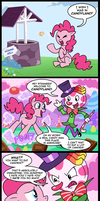 Pinkie adventures in candyland by CSImadmax