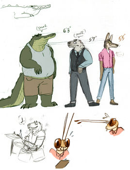 unconventional furries by beeZah