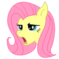 Annoyed Fluttershy by Relaxn