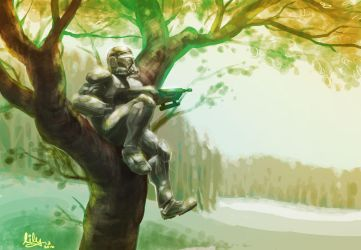 republic commando sittin' in a tree by Khrysaetos