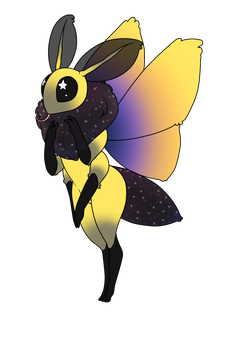 Sunset moth? by DramaOstrich