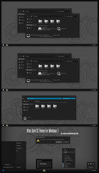 After Dark CC Theme For Windows 7 by Cleodesktop
