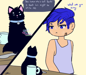 Zane The Cat 2 by yaoigirls379