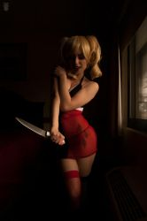 Harley Quinn Lingeire - Miss Foxy by ana21410