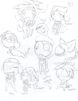 Orikero doodles by StarChaser94