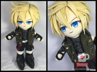Promto Argentum - Final Fantasy by renealexa-plushie