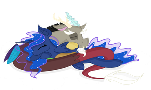 LunaCord Snuggle by Cheschire-Kaat