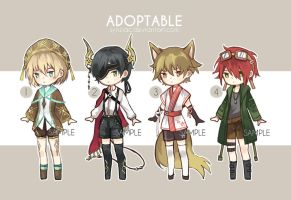 [1/4 OPEN] SET PRICE Adoptable by SynZiac