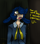 Royal Blue's bad experience by ToyCasnieRosemary