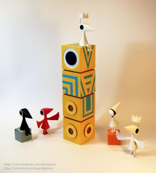 The Family of Monument Valley Game. by ddpatron