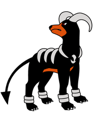 Houndoom by BlackWolves1