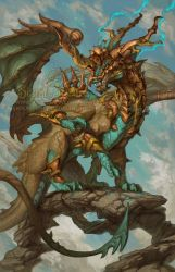 2015 Zodiac Dragons - Sagittarius by The-SixthLeafClover