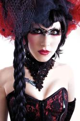 Gothic. Head Shot. by Ryo-Says-Meow
