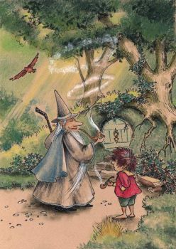 Gandalf's Visit by asiapasek