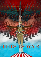 :APH: THIS IS WAR by Inupii