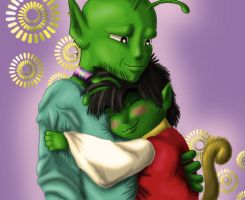 celebrate dads that are green by AlligatorPlaid
