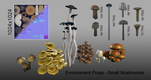 Mushroom Props Breakdown by Dandoombuggy