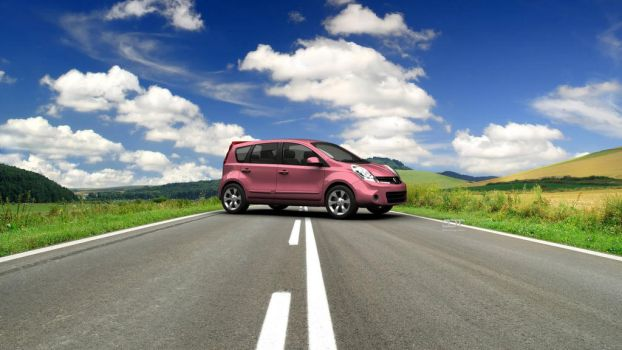 Nissan Note for Lovebug by NgKQ