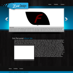 Zeal Design Website by ShanesDesigns