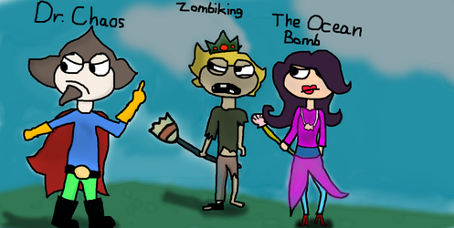 Poptropica Fan Villains #1 by BendyFlyer