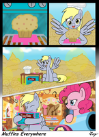 MLP:FIM - Muffins Everywhere by MultiTAZker
