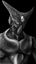 Cell Imperfect Form (Dragon Ball Z) by Meck-SF