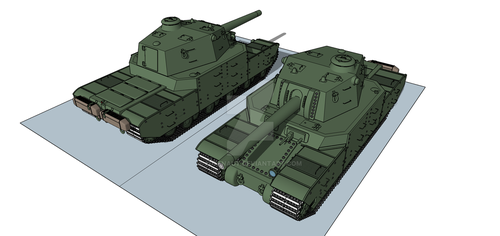 Type 2605 Heavy Tank by Giganaut