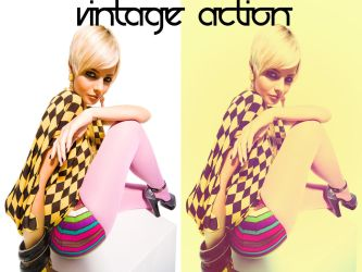 Vintage Action 8 by beckasweird