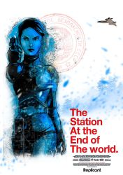The Station at the end of the world by alejanfigueroa