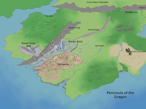 TLoD: Peninsula of the Dragon 2016 by NewLegend1