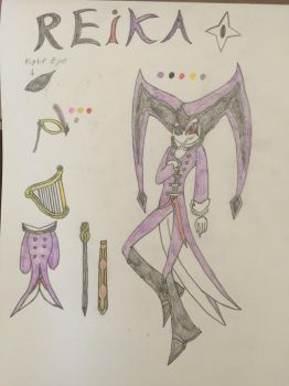 REiKA the Nightmaren (Unfinished) by changeling45