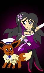 Allison and Sam-Roy  (Pokemon performing) by SunshineCat2