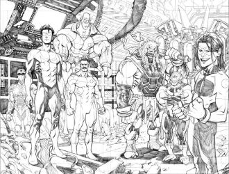 Invincible 75 pgs 2-3 by RyanOttley