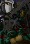 TMNT - Painting Practice by BuddhaTeddy