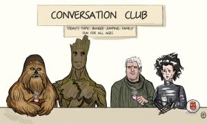 Join a Conversation Club by 0vas